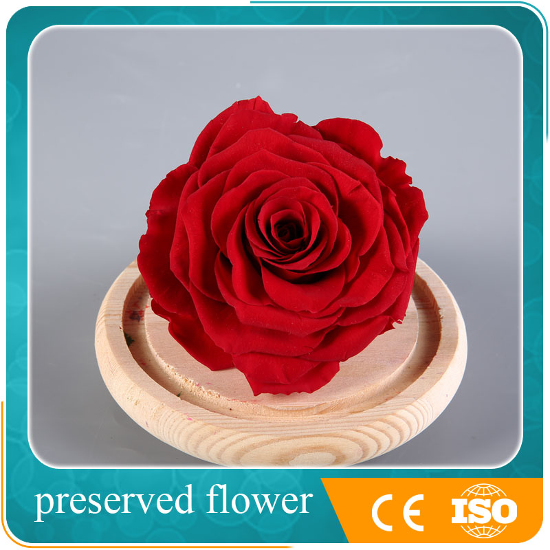 artificial preserved natural rose, flower wedding decoration