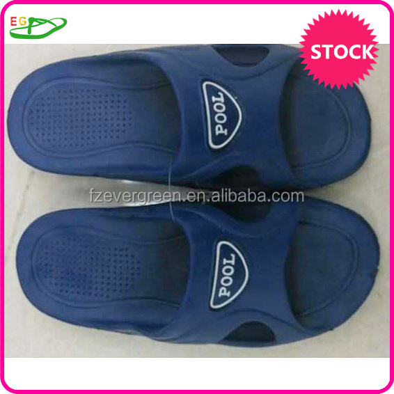 Stock indoor bath room men slipper
