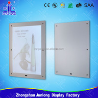 Magic Mirror Light Box, Advertising led panels for sale, Zhongshan Junlong Lighting
