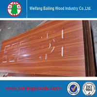 Bailing high quality Melamine interior door MDF door