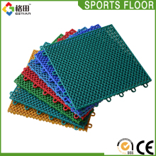 High quality regulation sports flooring for half basketball court,pp outdoor interlock floor/ basketball flooring