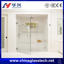 CE&CCC safety glass Euro style kitchen clear aluminium cupboard doors