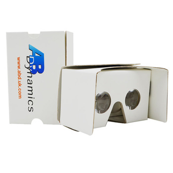 Best price Real 3d Google glasses Virtual Reality movie glasses 3d vr cardboard best promotional product vr 3d Glasses
