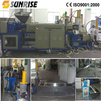 Waste PP PE Milk Bottle Recycling Granulating/Pelletizing Production Line