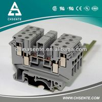 Grey industrial electronical 100 pair mdf terminal block