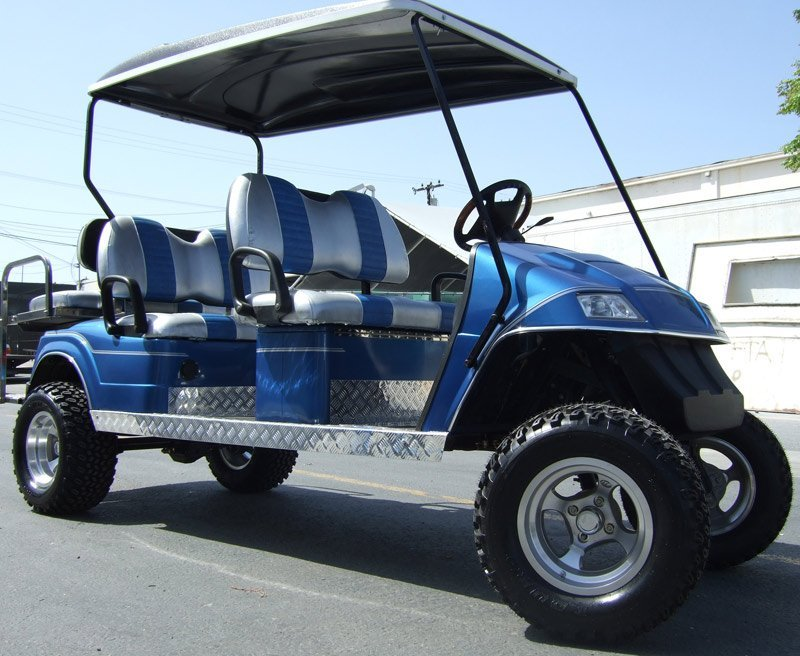 Limo Golf Carts