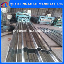 zinc coated gi metal corrugated roof sheet tile