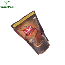 YASON mini reclosable ziplock bags hot sealed by manual machines mylar foil ziplock doypack with colorful printing mini ziplock