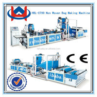 High speed full automatic nonwoven bag making machine