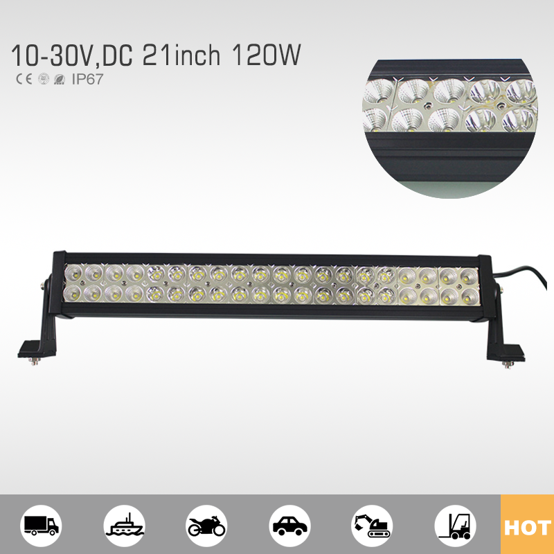Bot sale & high quality 120w 22 9600lm ip68 off-road extra led light bar
