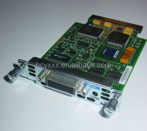 Used WIC-1T CISCO WAN INTERFACE CARD 1-PORT SERIAL - EXPANSION MODULE