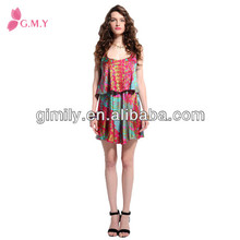 high quality satin dress real silk dress from China factory Gimilyfashion