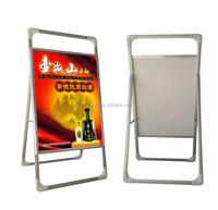 single side portable banner stand shop sign board