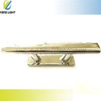 Made in Taiwan High Quality Marine 6 inch Precision Mirror Polished Stainless Steel Cleat For Yacht