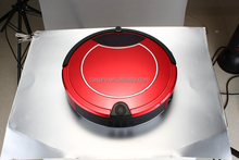 Red high quality efficiency intelligent robot vacuum cleaner