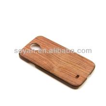environmental Sumsung Galaxy S4 PC case with semblance like wood case crafted by IMD,hot selling 2014