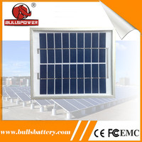 Small polycrystalline photovoltaic cells solar panels 10W for mini lighting system