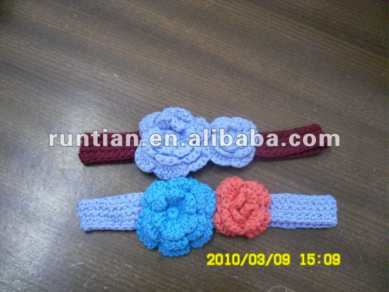 Girl's Hand Crochet 100%Cotton Headbands