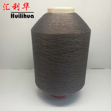 150D/48F polyester DTY yarn and dope dyed color