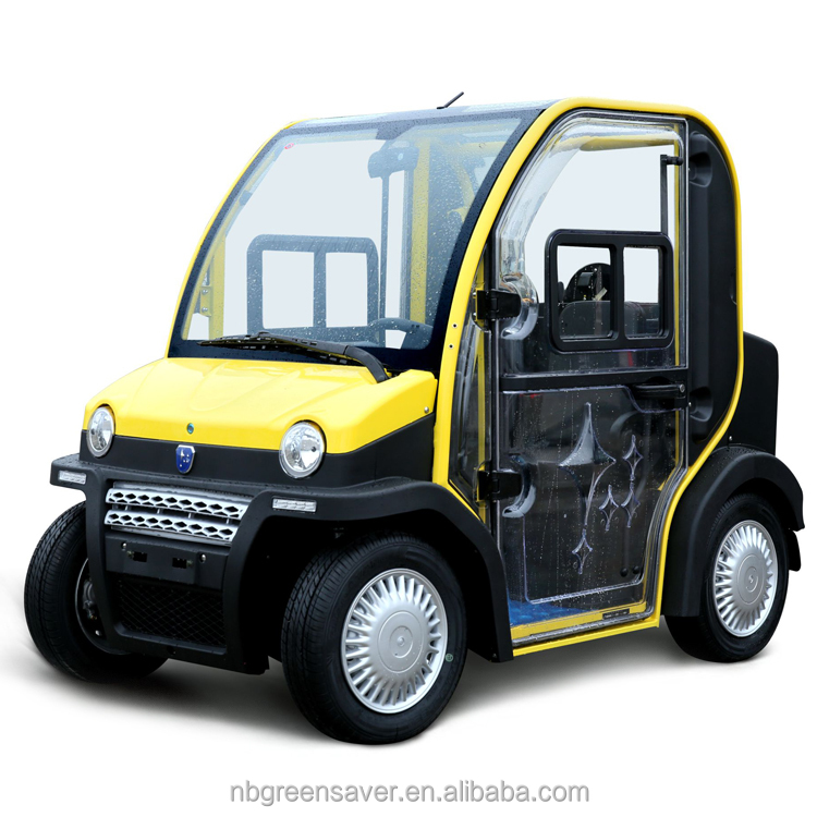 Transparent electric car with eec