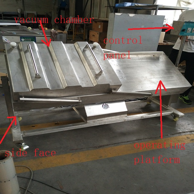 Tilt Type Vacuum Packing Machine We Are Responsible For Faults And Damages Caused By Our Technology