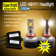 60w high power led car headlight h8 auto parts