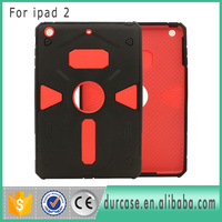 Best Selling 2 in 1 PC+TPU Heavy Cover Duty Hybrid Robot Tablet Case For iPad 2 3 4 Armor Covers Wholesale