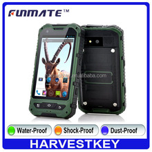 4 inch land a8 ip68 waterproof rover android 4.2 rugged waterproof android phone touch screen