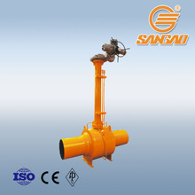 long stem natural gas ball valve bury extension stem ball valve