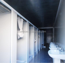 20ft Container Toilet Portable Shower Room Ablution Unit Mobile bathroom