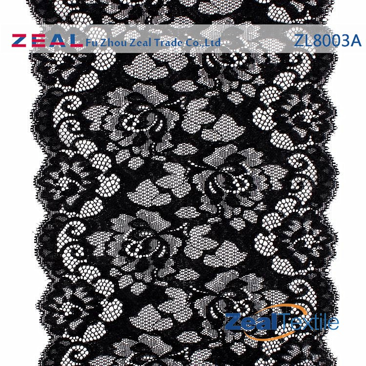 High Quality Lace For Lingerie scalloped embroidery lace trim