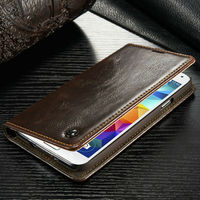 New Mobile phone Caseme leather for Samsung galaxy s5 i9600 cases