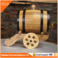 Cheap Decorative Oak Wooden Barrel 0