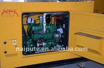 15kW LPG gas generator set with silent canopy optional