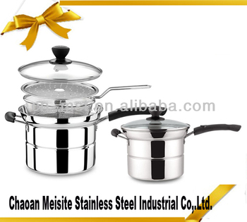 Stainless steel noodles pot