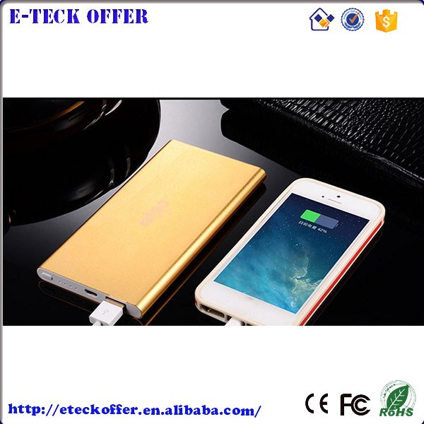 External Battery Power Bank Portable Charger Backup Pack For iPhone