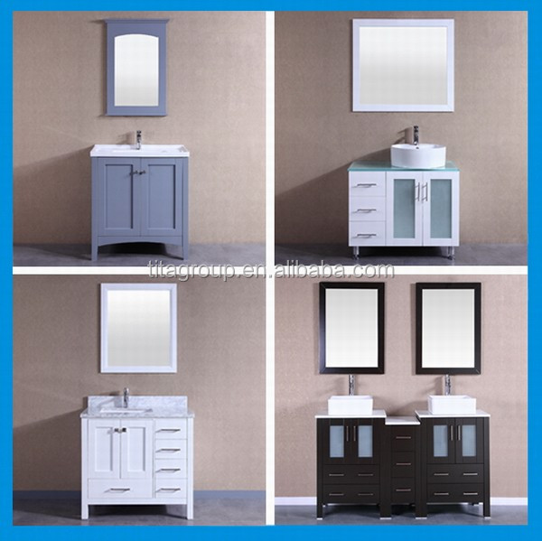 2017 American solid wood bathroom vanity
