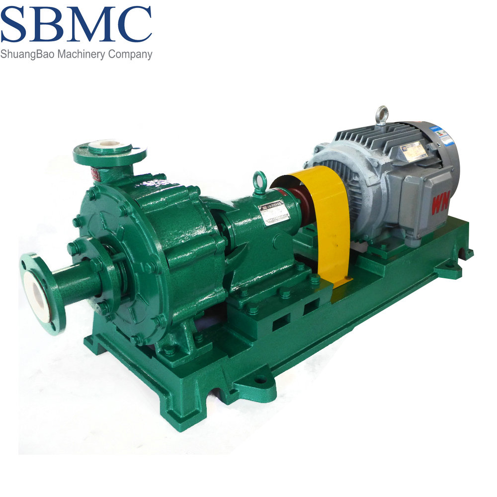 Plastic heavy duty mud pump for salt solution