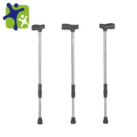 extensible walking cane gun, Hot Sale stainless steel walk stick, Foldable Walking Cane Gun