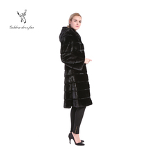 Real clothes women ladies mink fur coats