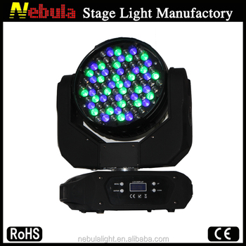 Nebula 91X3W led wash beam rgbwa moving head