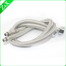 stainless steel wire weaved flexible metal hose for water heater