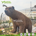 Theme Park Customized Vivid Life Size Animatronic Bear
