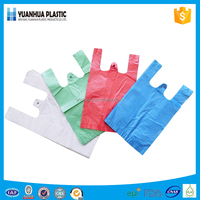 Plastic vest carrier shopping bags/t-shirt bag china manufacturer
