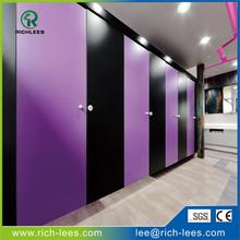 Richlees customize waterproof toilet cubicle partition board