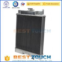 Good price truck aluminum and plastic radiators for skyline r33