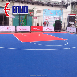 Best selling in 2018 interlocking sports floor for outdoor basketball sports floor