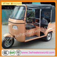 ISO9001&CCC Certification 150cc Bajaj Auto Rickshaw Tuk Tuk Taxi Moto Tricycle for sale