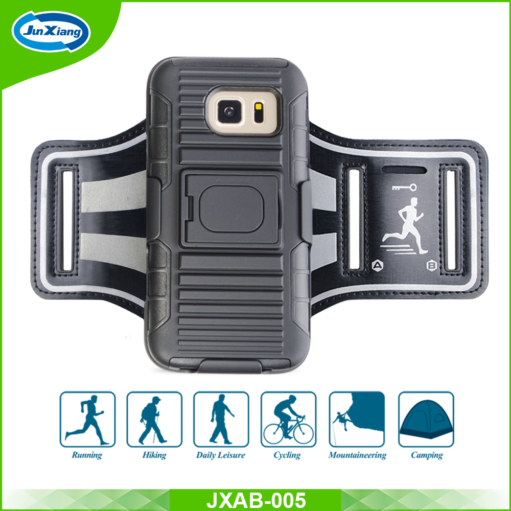 New Trend Mobile Phone Cover Plastic Case Sport Running Armband for Samsung Galaxy S7