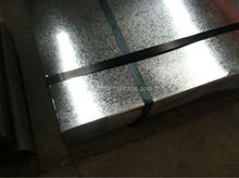 Galvanized steel sheet, galvanized steel plate or zinc coated steel sheet, hot dip galvanizing